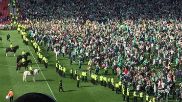 Rangers fan jailed for Cup Final attack on Hibs supporter