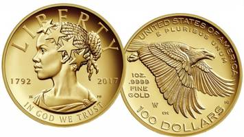 lady liberty will be portrayed as a black woman on a coin