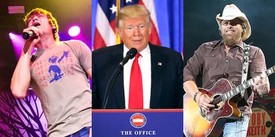 3 Doors Down, Toby Keith to Perform at Trump Inauguration Event