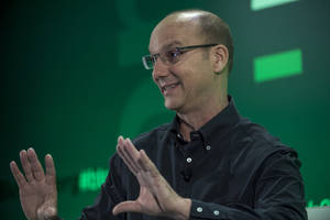 Android creator Andy Rubin is building a high-end smartphone