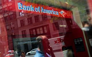 Bank of America falls in line with trend of strong US bank results