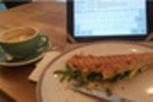 nottingham's food sleuth lunches at the specialty coffee shop