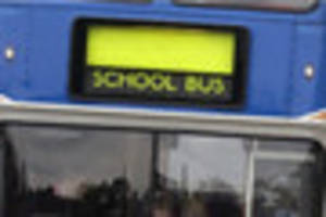 school bus runs cancelled because of devon ice this morning