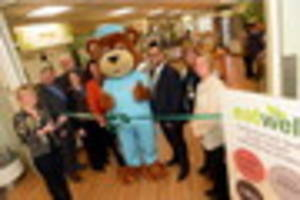 great british bake off star officially opens grimsby hospital's...