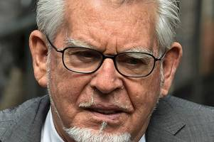 rolf harris ' put his hand up the skirt of a 12-year-old girl,' trial hears