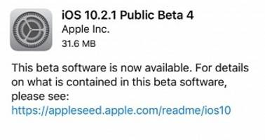 Apple Seeds Fourth Beta of iOS 10.2.1 and macOS Sierra 10.12.3, Update Now