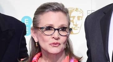 carrie fisher won't be digitally recreated - star wars film bosses