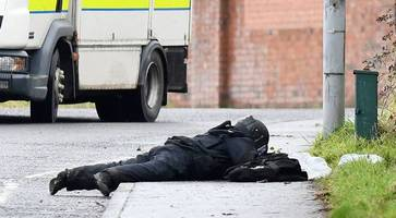 suspicious object found after two day search in west belfast