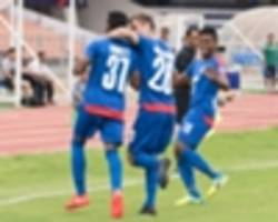 I-League 2017: Bengaluru FC 2-0 Chennai City FC: Blues leave it for the second half in South derby
