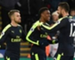 Swansea City 0-4 Arsenal: Gunners move up to third as Clement loses first league game in charge