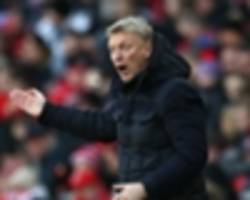 i might have left early myself - moyes