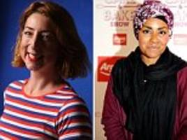 novelist is forced to quit twitter... after she criticised bake off winner nadiya's book