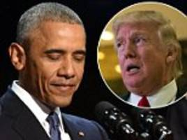 Trump and Obama to be questioned by Senate Intelligence Committee over Russian hacking claims