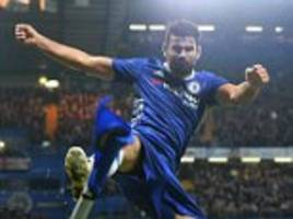 Chelsea striker Diego Costa told 'go to China' by manager Antonio Conte in furious row