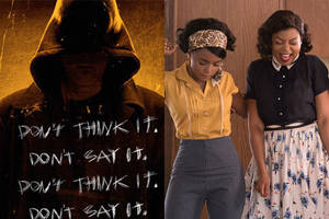 'bye bye man' creeps up on 'hidden figures' at friday the 13th box office