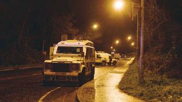 brians well road closed overnight in security alert