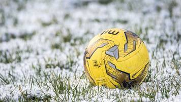 match off due to freezing weather: cowdenbeath v edinburgh city