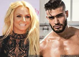 Britney Spears Posts Shirtless Photo of Boyfriend Sam Asghari and It Will Make You Drool