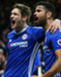 Chelsea star Marcos Alonso is first player to speak after Diego Costa row
