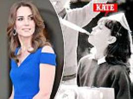 kate middleton aged seven, helping to build the middleton family's party millions