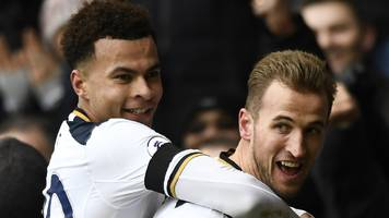 kane hits hat-trick as spurs hammer west brom