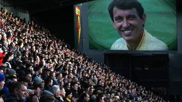 graham taylor: football pays tribute to former england manager