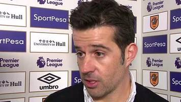 hull 3-1 bournemouth: marco silva 'very happy' with tigers victory