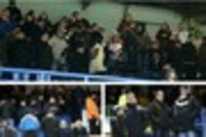 watch: it wasn't pretty but derby county fans did club proud at...