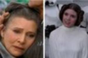 Will the late Carrie Fisher be recreated as Princess Leia for...