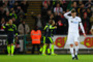 Swansea City 0 Arsenal 4: No dream Liberty start for Paul Clement...