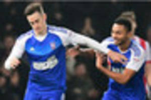 tom lawrence to the rescue again as ipswich town beat blackburn...