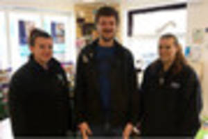 Generous Matty, formerly of Burton, donates to Derby RSPCA after...