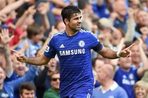 Chelsea striker Diego Costa dropped for Leicester clash after bust-up with fitness coach