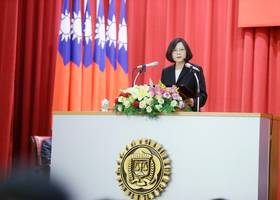 tsai signals shift in approach to allies