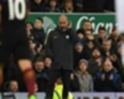 guardiola lays city's mental frailties bare after goodison rout