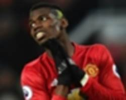 'He tried to dab the ball away!' Twitter rounds on Pogba after handball