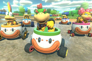 'mario kart 8 deluxe': our first take