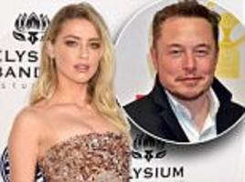 johnny depp's ex-wife amber heard said to be besotted with elon musk