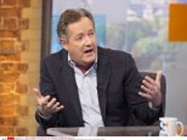 'the great sexed-up dossier king': piers morgan clashes with alastair campbell on peston on sunday after accusing tony blair's former spin doctor of 'snarling' at him during debate about donald trump