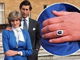 Wealthy Chinese and Russian couples snap up replicas of Princess Diana's sapphire and diamond engagement ring