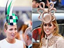 zara phillips' hat steals the show at magic millions on australia's gold coast