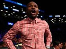 floyd mayweather believes he can make james degale 'a superstar' and questions whether new york judges were paid off