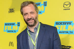 judd apatow says donald trump will run the country like it's 'the apprentice'
