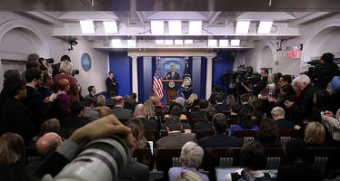 Trump Team Responds: May Move White House Briefings To Accommodate More Than Just Media Elite