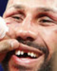 is this the moment james degale has his teeth punched out during epic war with badou jack?