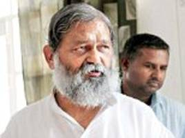 'gandhi will be out of our notes too': bjp minister anil vij says modi is a better brand than mahatma gandhi