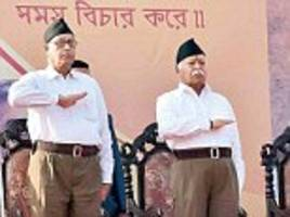 'hindus responsible for their own plight': rss chief mohan bhagwat wants to create a 'potent hindu society'