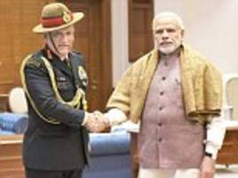 'men in the shadows': how the appointment of lt gen rawat left a bad taste