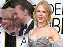 Nicole Kidman's 'bizarre behaviour' at the Golden Globes revealed