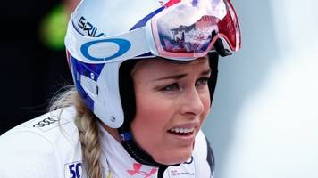 lindsey vonn: american skier finishes 13th in comeback race